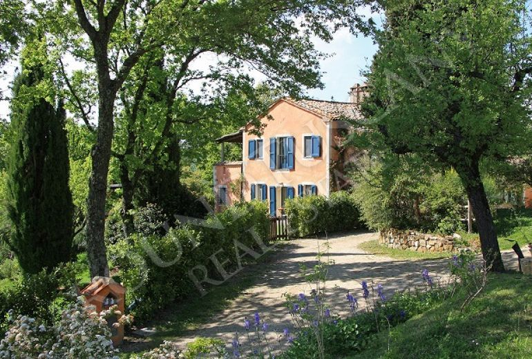 Farmhouse - Country House For Sale, San Casciano Dei Bagni ...